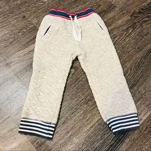 Cat & Jack Bottoms - Cat & Jack Quilted Joggers